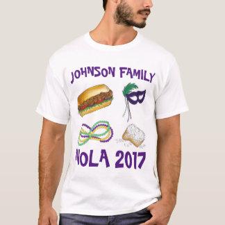 Viagem das férias em família de NOLA Nova Orleães Camiseta