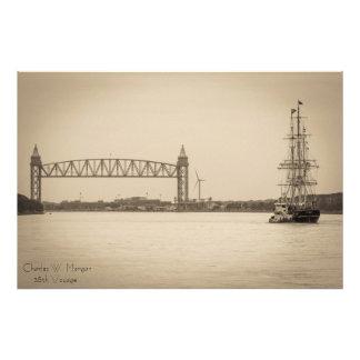 Viagem de Charles W. Morgan 38th Impressão De Foto