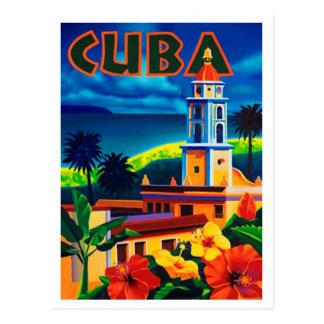Viagem de Cuba do vintage Cartão Postal