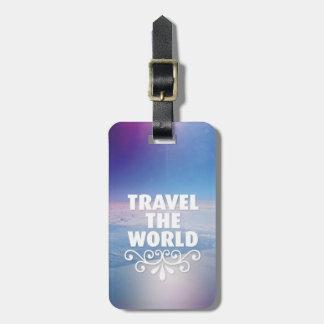 Viagem do divertimento o Tag da bagagem das citaçõ Etiquetas Para Malas De Viagem
