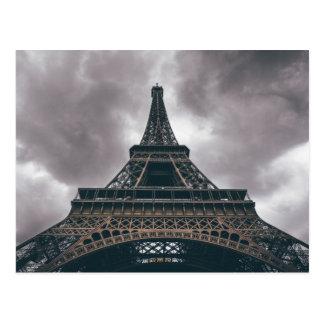Viagem do francês de Paris da torre Eiffel Cartão Postal