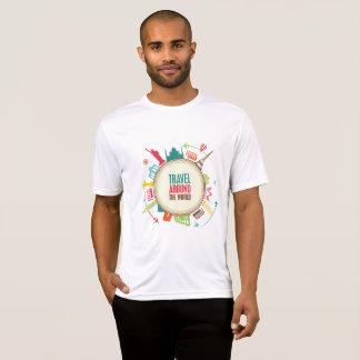 Viagem do mundo camiseta