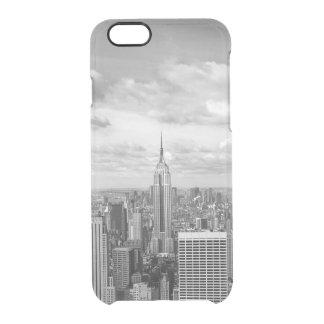 Viagem do wanderlust da skyline da Nova Iorque NY Capa Para iPhone 6/6S Clear