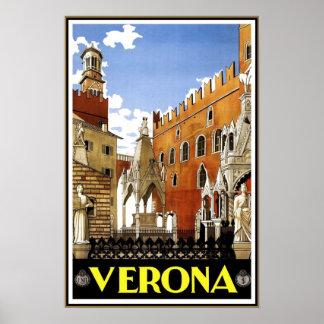 Viagem Italia de Verona do poster das viagens