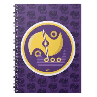 Viagem nórdica - caderno espiral