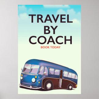 Viagem pelo poster de viagens de Ingleses do