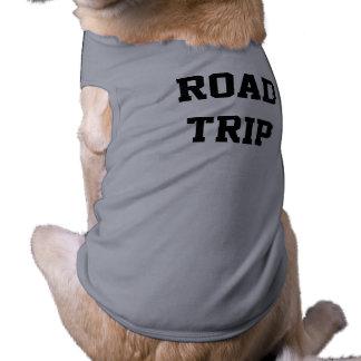 Viagem por estrada camiseta