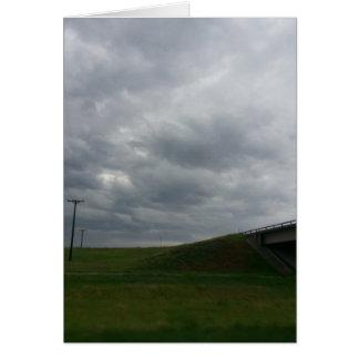 Viagem por estrada do verão cartão comemorativo