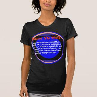 VIAGEM: VELA do Haj do vôo da expedição da excursã T-shirt