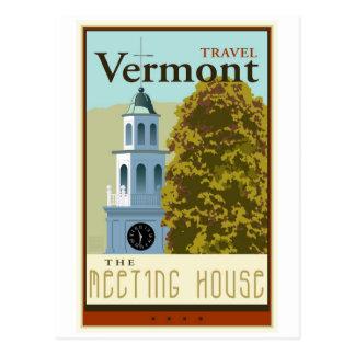 Viagem Vermont Cartão Postal