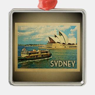 Viagens vintage do ornamento de Sydney Austrália
