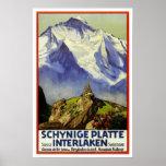 Viagens vintage, Interlaken Posters
