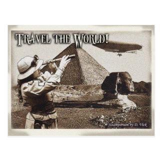 Viaja o cartão do mundo