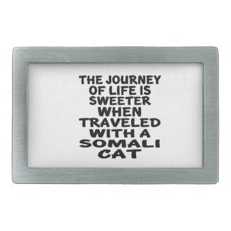 Viajado com gato somaliano