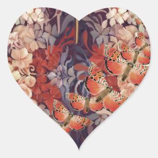 Vibração perto adesivo coração