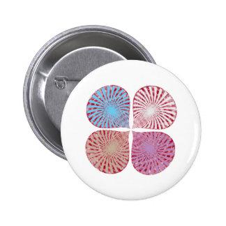 Vibrações mornas bonitos da energia boton