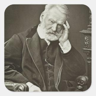 Victor Hugo (1802-85), 'de Galerie Contemporaine Adesivo Em Forma Quadrada