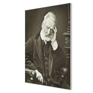 Victor Hugo (1802-85), 'de Galerie Contemporaine Impressão De Canvas Envolvida