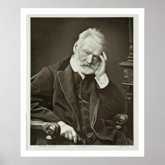 Victor Hugo (1802-85), 'de Galerie Contemporaine Poster