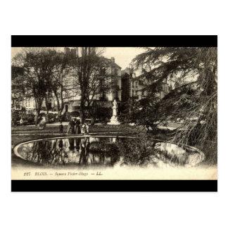 Victor Hugo quadrado BLOISE FRANCE Cartao Postal
