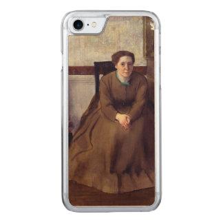 Victoria Dubourg por Edgar Degas Capa iPhone 7 Carved