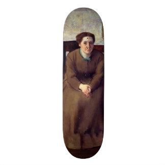 Victoria Dubourg por Edgar Degas Skate