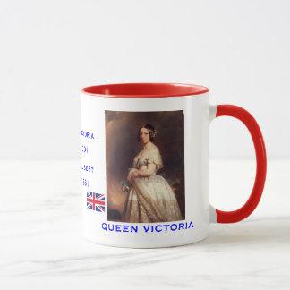 Victoria e caneca do retrato de Albert*