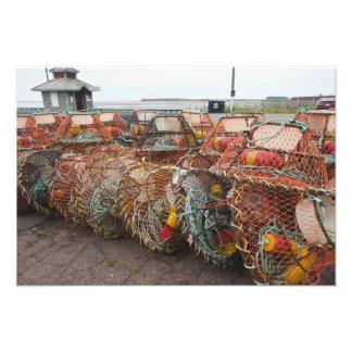 Victoria, Prince Edward Island. Potes de caranguej Arte De Fotos