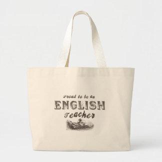 Victorian orgulhoso do professor de inglês bolsa