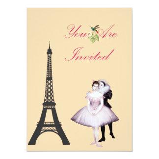 Victorian Paris Convite 13.97 X 19.05cm