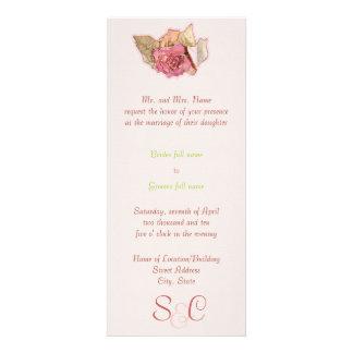 Victorian simples convites personalizados
