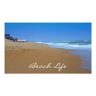 Vida bonita da Praia-Praia Impressão Fotográfica