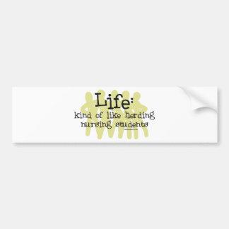 Vida - como a reunião de estudantes dos cuidados adesivo