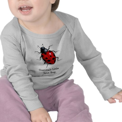 Vida-como o joaninha: Inseto do amor de Gramma pou T-shirts