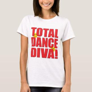 Vida da diva da dança camiseta