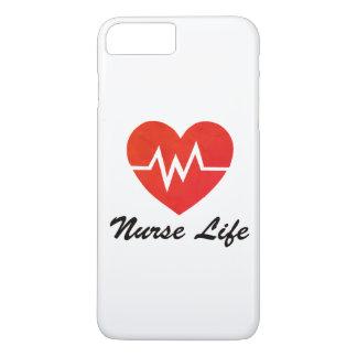 Vida da enfermeira - capa de telefone suja do