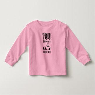 Vida da panda - camisa de T