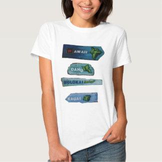 Vida de Havaí Camisetas