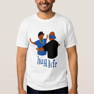 Vida do abraço t-shirts