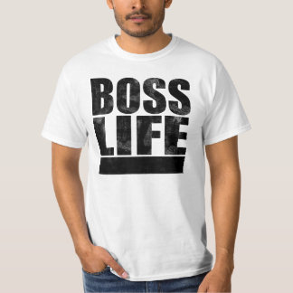 Vida do chefe camiseta