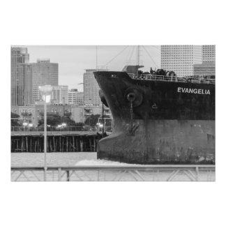 Vida do porto impressão fotográficas