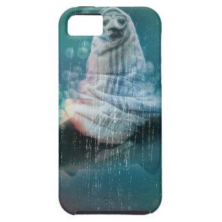 Vida do tubarão do selo do mergulhador engraçada capa tough para iPhone 5