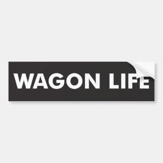 Vida do vagão adesivo para carro