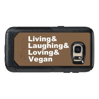 Vida e riso e amor e Vegan (brancos)
