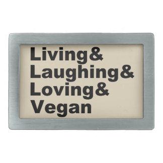 Vida e riso e amor e Vegan (preto)