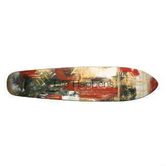 Vida Happens Skateboard