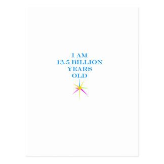 Vida infinita cartão postal