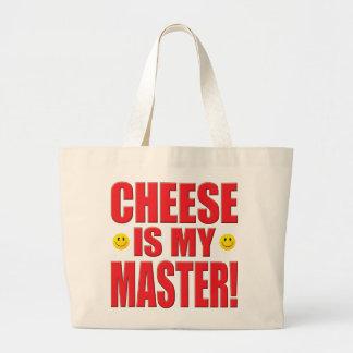 Vida mestra do queijo bolsas de lona