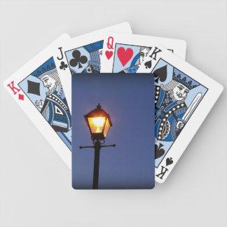 Vida nocturna baralhos de pôquer