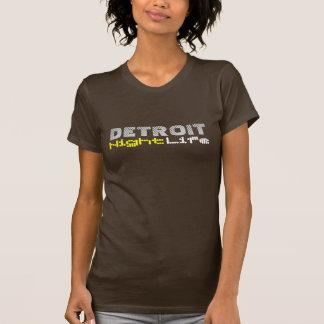Vida noturno de Detroit Tshirt